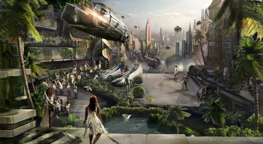2090 cityscape