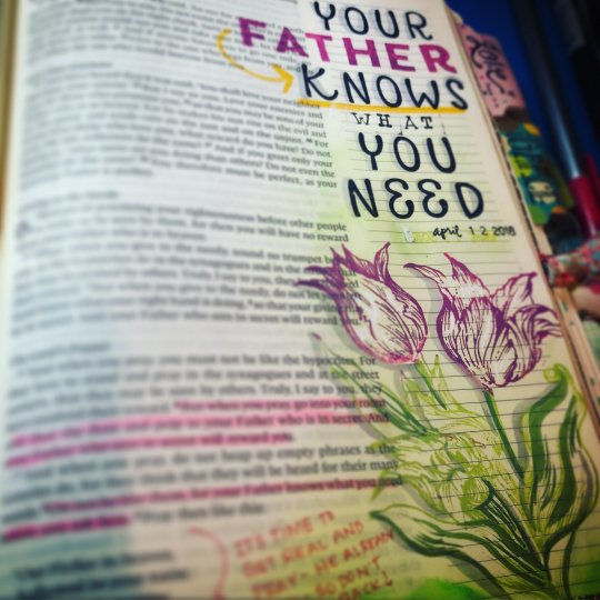He Knows My Needs- The Bright Bible