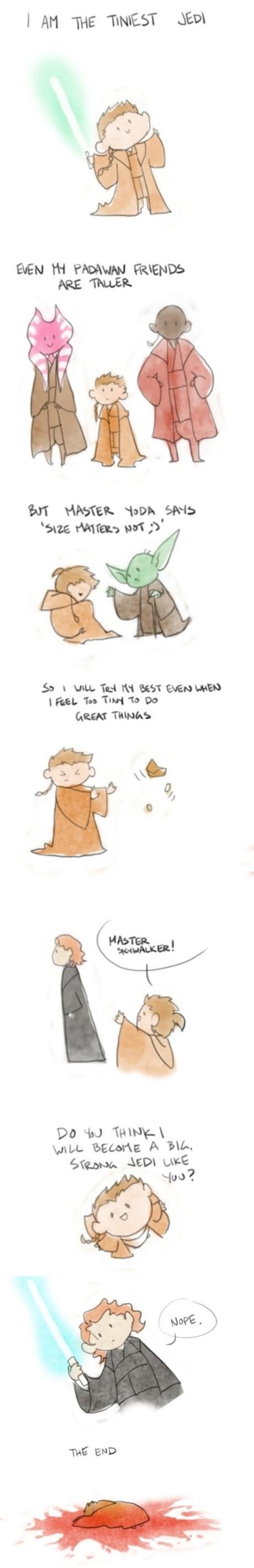The Tiniest Jedi