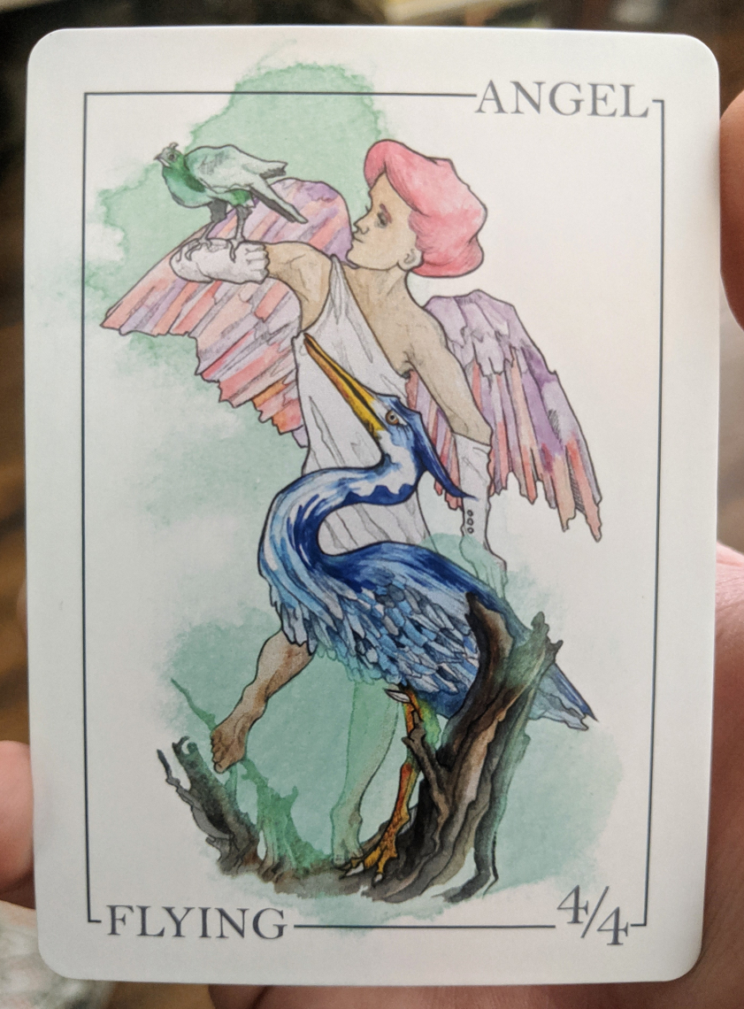 Really Nice Angel Token from Card Kingdom