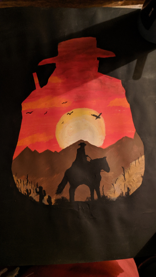 RDR2 Painting I did today
