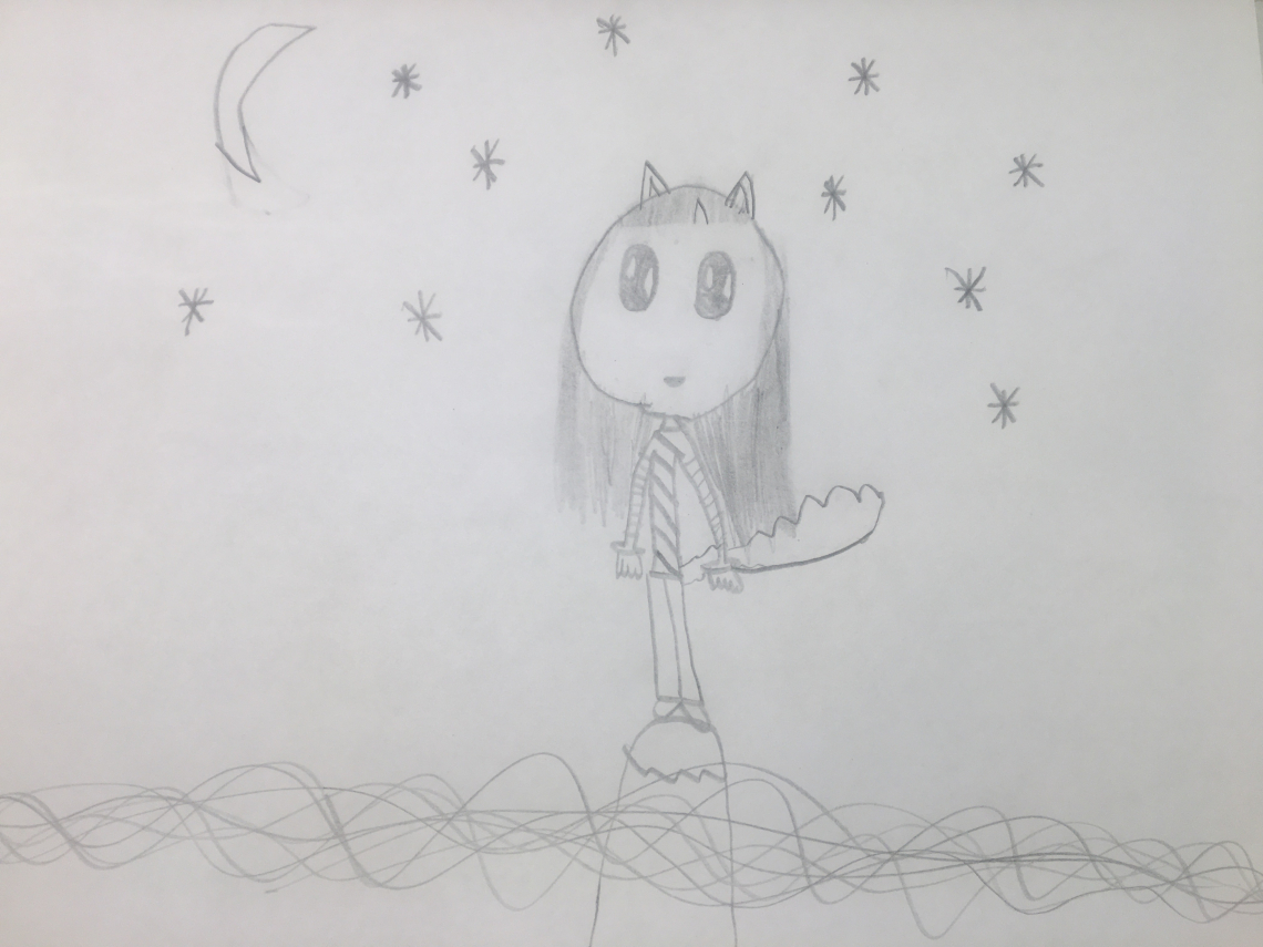 8 year old daughters drawing