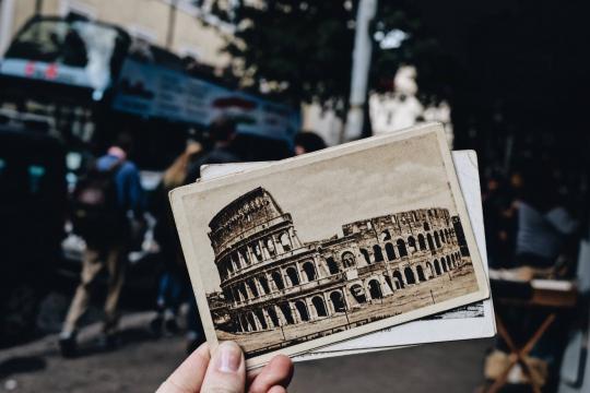Il Colosseo | postcard