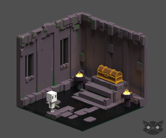 Mini Dungeon room