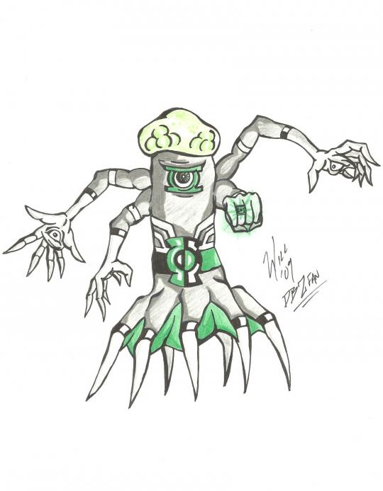 Green Lantern- OC Contest Entry