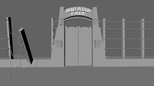 Jurassic Park...In Progress