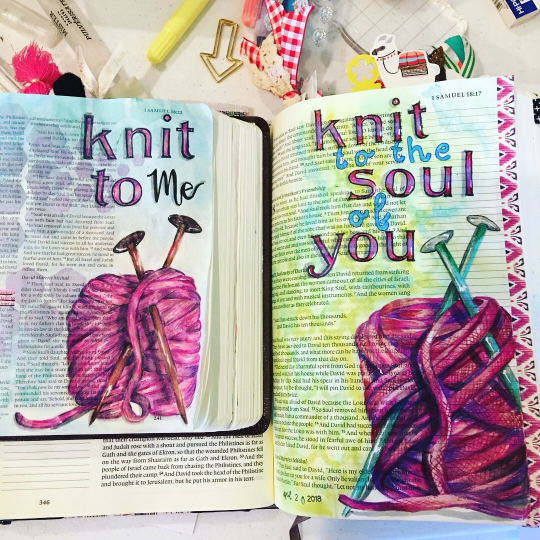 Friends Knit Together- The Bright Bible