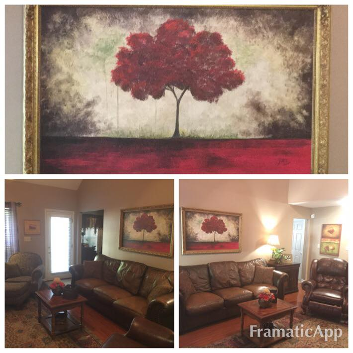 Red Tree Painting - 2