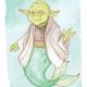 Star Wars Day Mer-Yoda - MerMay 2018