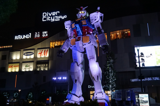 RX-78-2 Gundam Night Time