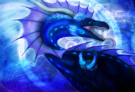 Blue dragon (request)