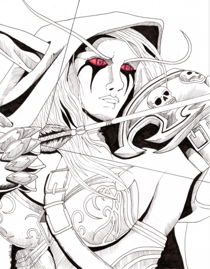 Sylvanas, The Dark Lady