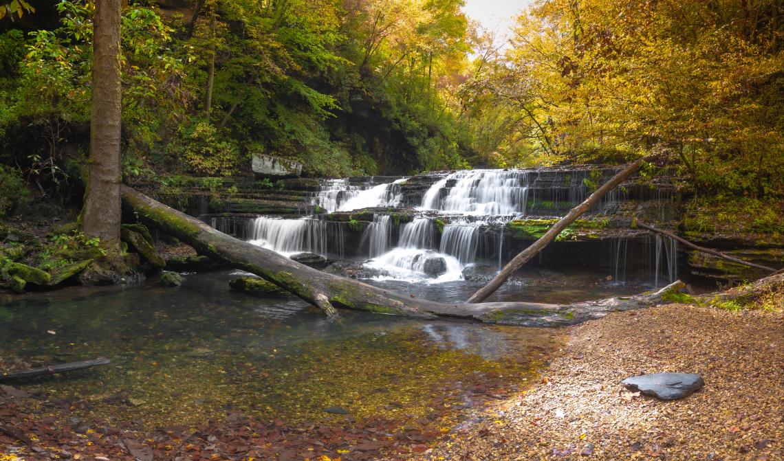 Busby Falls (Autumn)