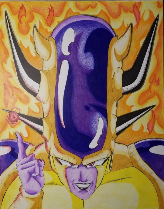 Golden Freeza- All forms combined.