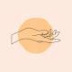 Hand and Circle
